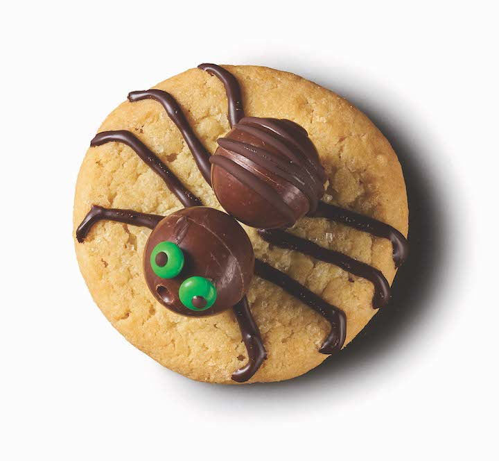 Halloween Spider Candy Cookies