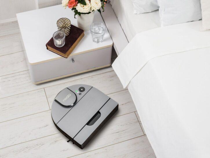 Neato Vacuum in Corner