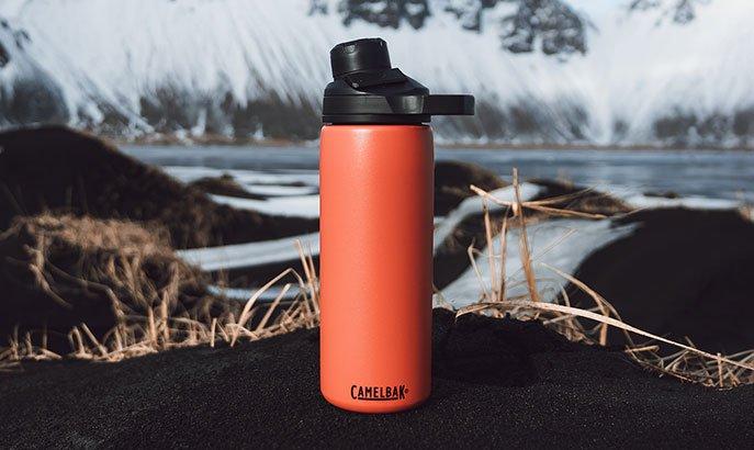 CamelBak Bottle on Snow