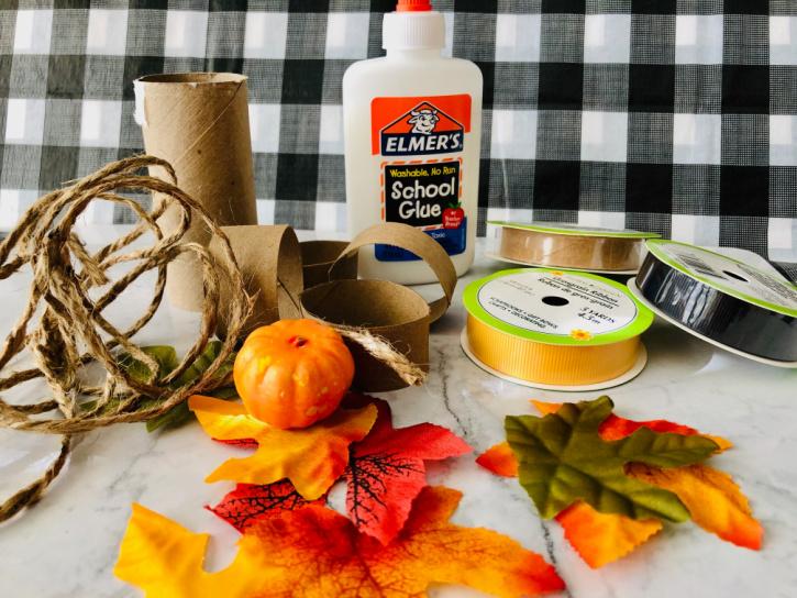 DIY Napkin Rings - supplies needed
