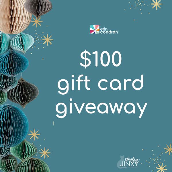 Erin Condren Gift Card Giveaway