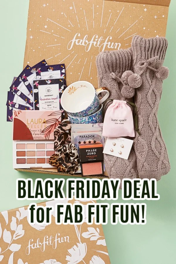 FabFitFun Black Friday Deal