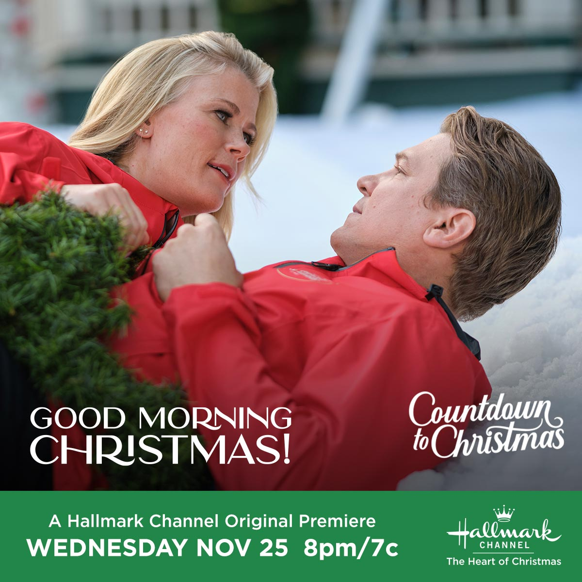 """Hallmark Channel Original Premiere of """"Good Morning Christmas!"""" on Wednesday, Nov 25th at 8pm/7c ..."""