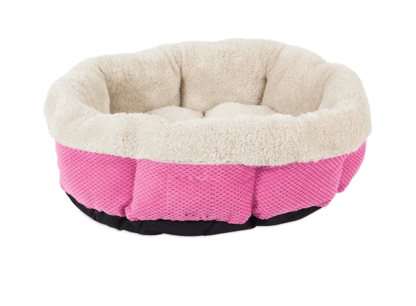SnooZZy Mod Chic Shearling Round Bed