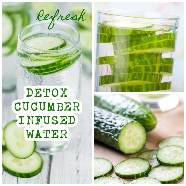 DETOX cucumber INFUSED WATER