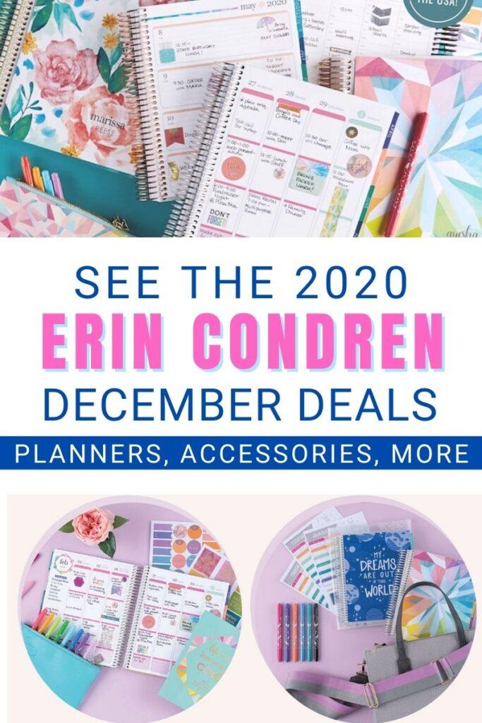 ERIN CONDREN December Deals