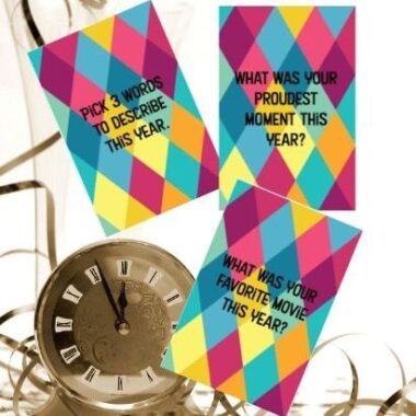 New Years Eve Party Game Cards
