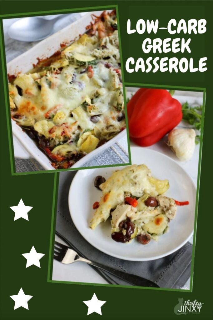 Low Carb Greek Casserole