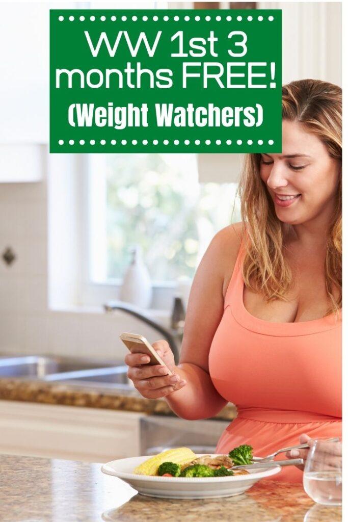 Weight Watchers 3 Months Free