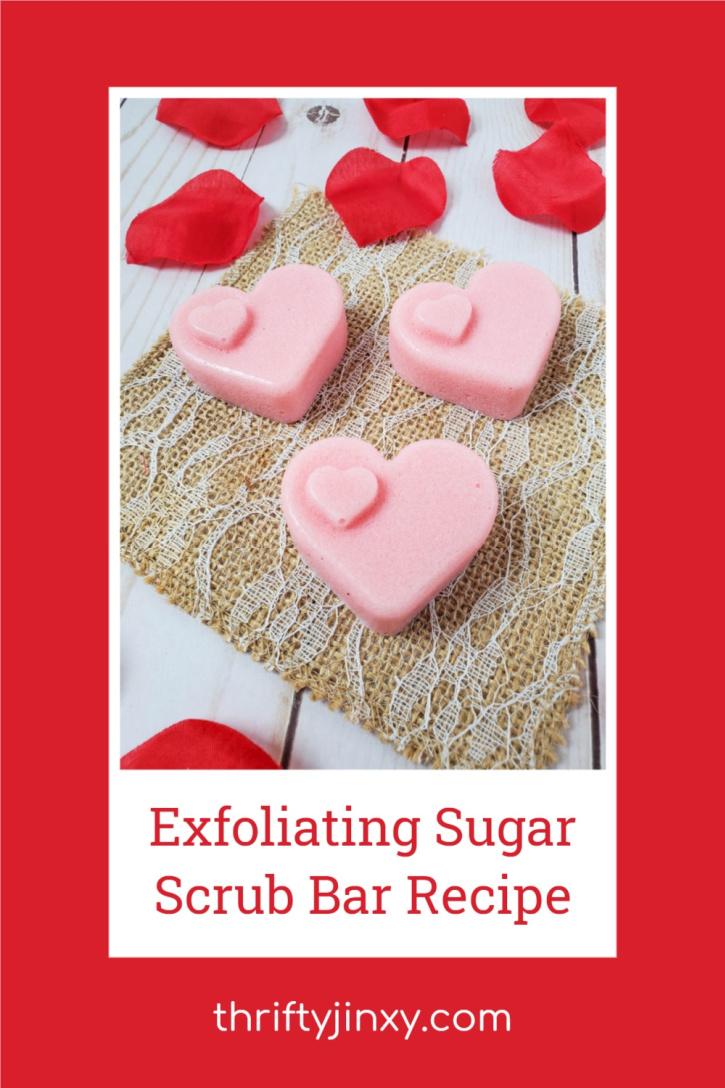 Exfoliating Sugar Scrub Bar Recipe