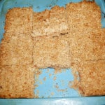 Jammy Oat Bars, 7p each, for breakfast or a snack