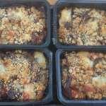 Melanzane parmigiana, 67p a serving