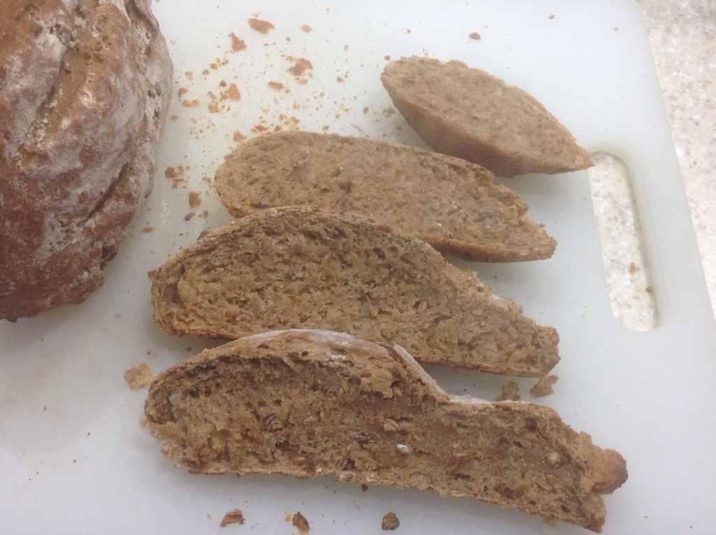 Loaf slices