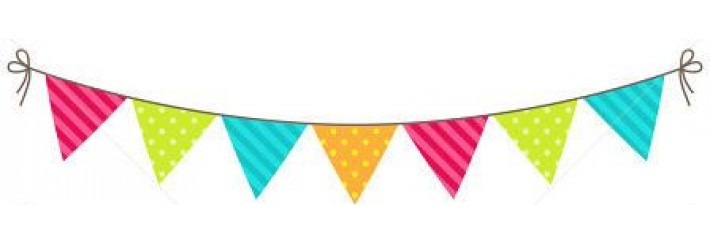 Joy and jubilation and hang the bunting out