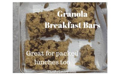 Granola Breakfast Bars