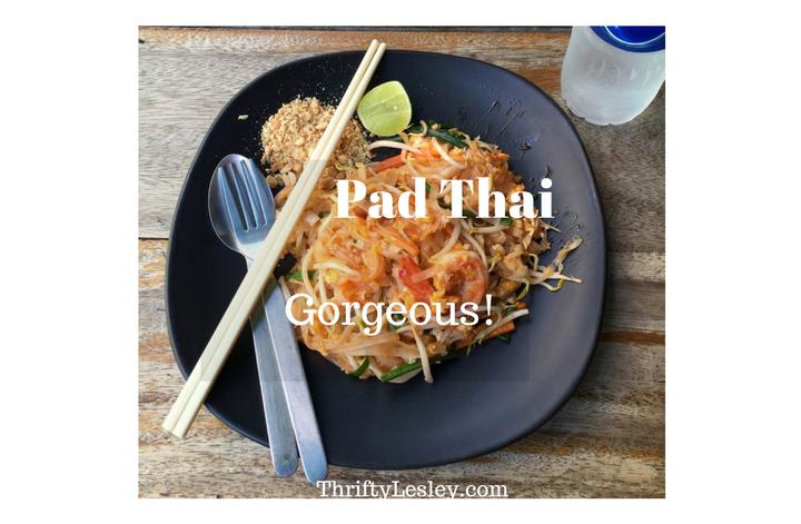 A gorgeous home made Pad Thai