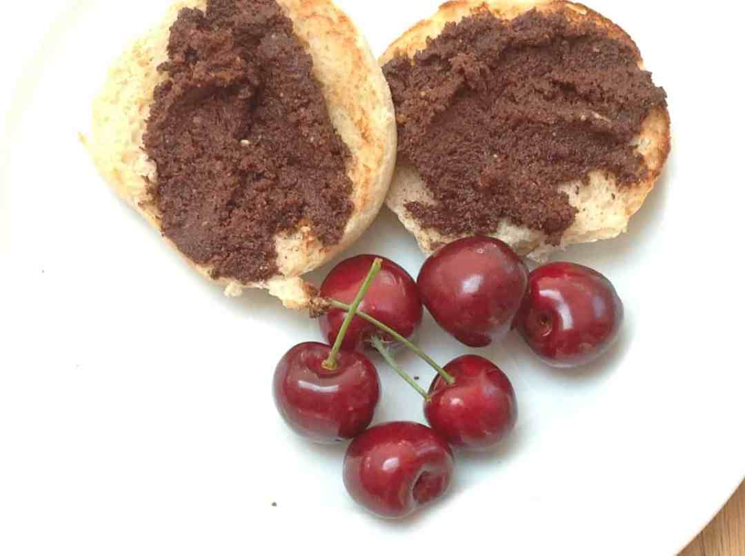 Nutella on muffins