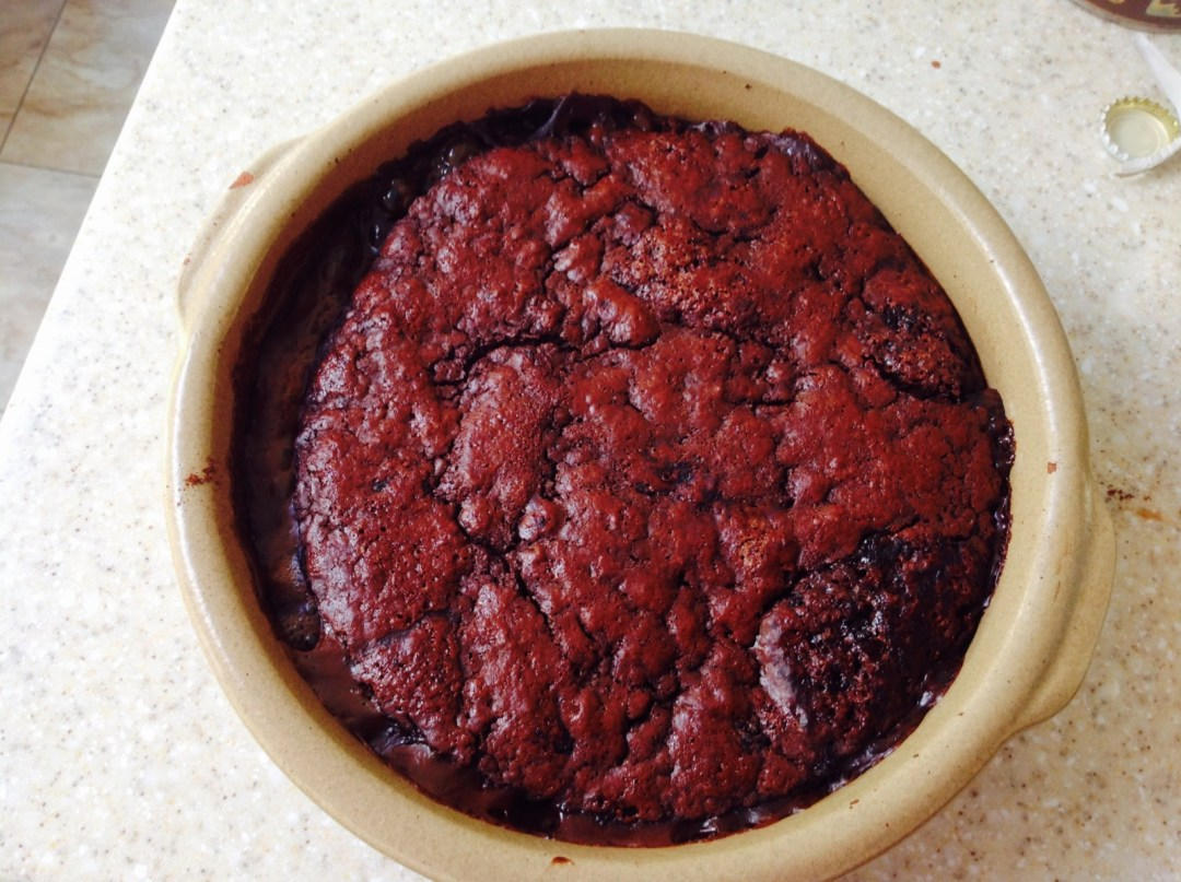Self saucing chocolate pudding