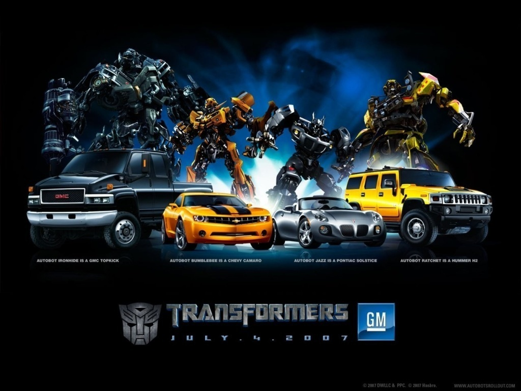 transformers in cafe caliente