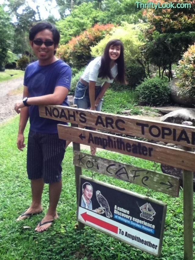 malagos garden resort, davao, park, noah's arc