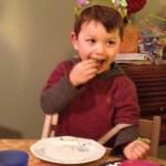 Wordless Wednesday – My Nephew on Sugar