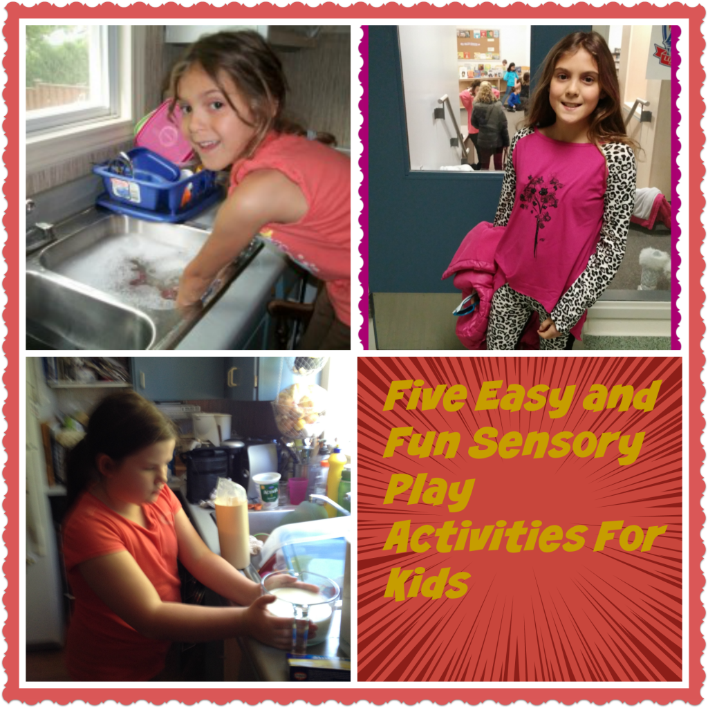 Five Easy and Free Sensory Play Activities for Kids