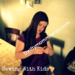 Summer Sanity Savers: Simple Sewing Projects For Kids: Car Bags