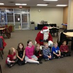 Our Family Christmas Party #WordlessWednesday #adoption