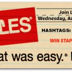 Staples Canada First Ever Twitter Party #Linkedmoms #GoingBack