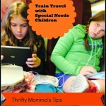 Five Tips for Train Travel with Special Needs Children