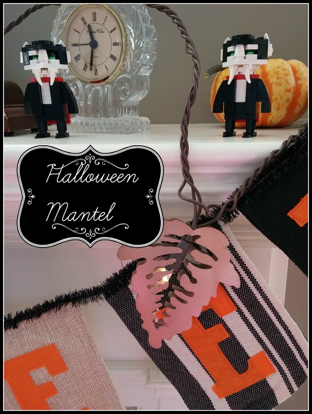 My Halloween Mantel