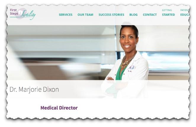 Public funding  for IVF advocate Dr. Marjorie Dixon