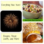 New Year's Roundup: Crafts, Food and Party Ideas
