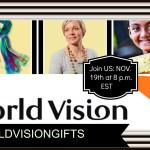 World Vision Canada Christmas Gifts – Party RSVP #WorldVisionGifts November 19 at 8 p.m. EST