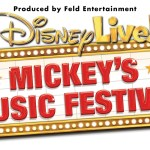 Disney Live Mickey Music Festival Family Tickets (4) ARV $100 #giveaway #ldnont