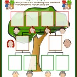 Traditional Family Tree Printable for Family Day
