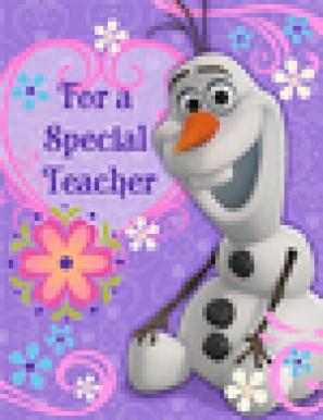 Hallmark - Frozen Valentines Day Kids Cards, $2.99_Teacher