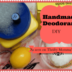 Do it Yourself Homemade Deodorant