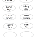 Printable Pantry Labels to Help Keep You Organized