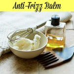 Easy DIY Shea Butter Anti-Frizz Balm