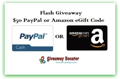 Flash giveaway