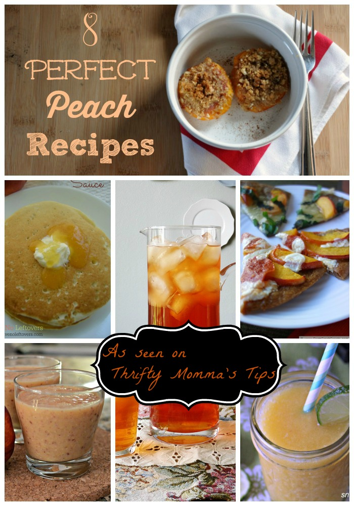 best peach recipes