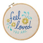 A Special Flash Spring Giveaway – Embroidered Love Sentiment #Giveaways