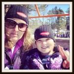 March Break #WordlessWednesday #skiing