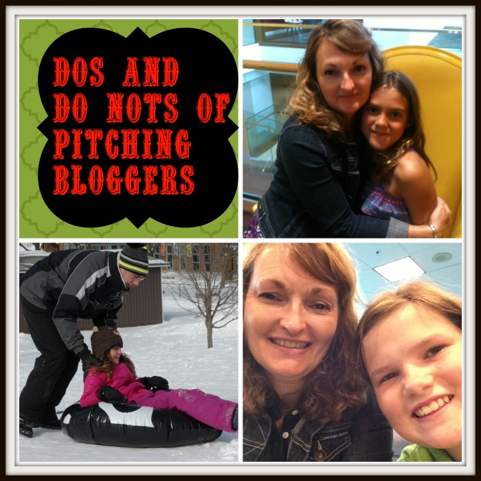 dos and dont's of pitching bloggers