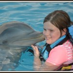 Dolphin Kisses – Last June in Mexico #WordlessWednesday #travel