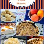 Delicious Peach Desserts