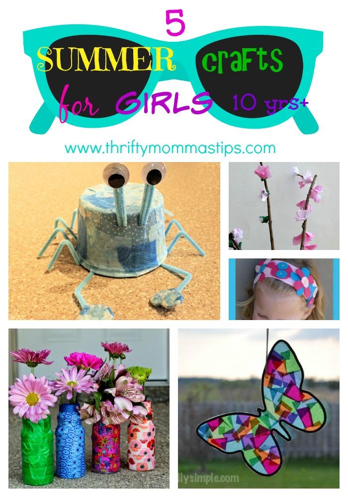 crafts for tween girls