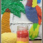 Make Your Own Relaxing Luau Bath Scrub