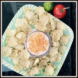 savoury sour cream nacho dip